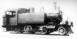 CGR 3rd Class 2-6-0T class of 4 South African 2-6-0T locomotives