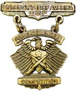 Civilian Marksmanship Program's (CMP) Civilian Excellence-in-Competition (EIC) Rifle Badge (bronze)