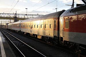 City Night Line - Former City Night Line Canopus to Prague in Zürich, Switzerland