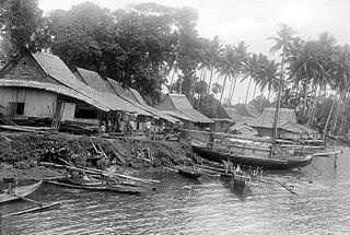 Jailolo (town) district in Halmahera Barat Regency, Maluku Utara Province, Indonesia