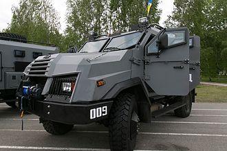 Militsiya (Ukraine) - Varta APC