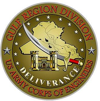 Combat Pin for Civilian Service - Combat Pin for Civilian Service (Gulf Region)