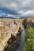 Cañón Flosagja, Parque Nacional de Þingvellir, Suðurland, Islandia, 2014-08-16, DD 043.JPG