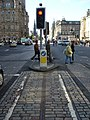 Cable car tracks, Waterloo Place - geograph.org.uk - 1516785.jpg