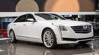 Cadillac CT6 - Image: Cadillac CT6 04 2015