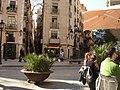 Cafés in El Borne, sunny (4480753251).jpg