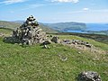 Cairn on the east side of Stròc-bheinn - geograph.org.uk - 830935.jpg