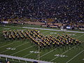 Cal Band performing at halftime at ASU at Cal 10-30-04 4.JPG