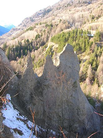 "Saint-Nicolas, Aosta Valley - The ""earth pyramids"""