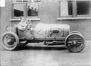 Caleb Bragg - Image: Caleb Bragg in Mercer in 1910s