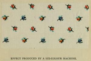 Calico - Image: Calico sample Crum & Co