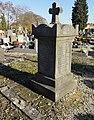 Cambrai - Cimetière de la Porte Notre-Dame, sépulture remarquable n° 24, tombes anciennes (04).JPG