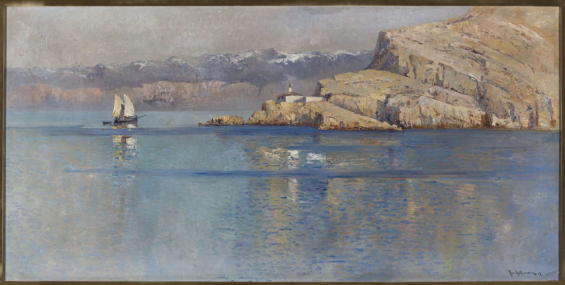 Camilla Leontine von Littrow - Marine landscape - M.Ob.1375 - National Museum in Warsaw.jpg