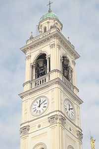 Campanario de la Basílica de Magenta
