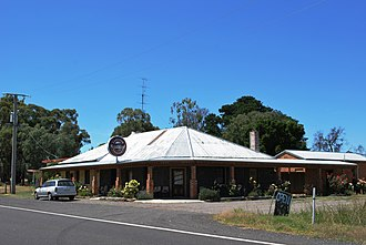 Campbelltown, Victoria - The (now closed) Black Duck Hotel at Campbelltown