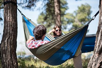 Ripstop - Ripstop used in high quality camping hammock
