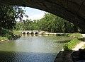 Canal du Midi. Epanchoir (spillway) de l'Argent-Double, seen from under the D-11 bridge. La Redorte, département de l'Aude, France. - panoramio.jpg