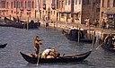 Каналетто, Ведута дель Канале ди Санта Кьяра в Венеции, 1730 г.  05.JPG