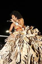 862bd2005e Margareth durante o Carnaval 2010