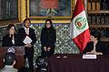 Cancilleres del Perú y Honduras acuerdan suprimir visas de turismo en el marco de Visita Oficial (10874864225).jpg