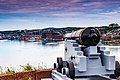 Cannon St John Harbour Newfoundland (41321658442).jpg