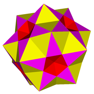 Pentagrammic cuploid - Image: Cantellated great icosahedron