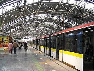 Rapid transit - The Shanghai Metro is the largest metro system by route length.