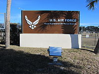 Cape Canaveral Air Force Station sign 001.jpg