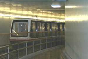United States Capitol subway system - Image: Capitol Subway car