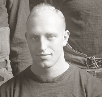 Franklin Cappon - Cappon cropped from 1921 Michigan football team photograph