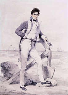 Captain Hoste of HMS Amphion by Henry Edridge (London 1768-1821).jpg