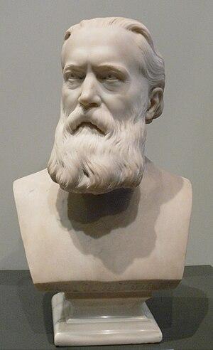 Carl Martin Reinthaler - Bust by Diedrich Samuel Kropp, 1902
