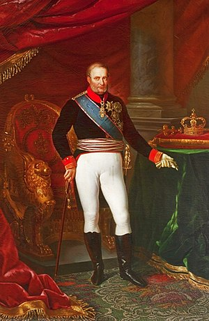 Vincenzo Bellini - King Francesco I, who gave his personal approval to Bellini's Bianca e Gernando