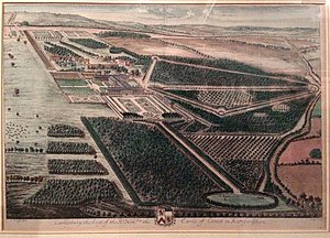 Watford - The Cassiobury Estate, as it appeared in 1707
