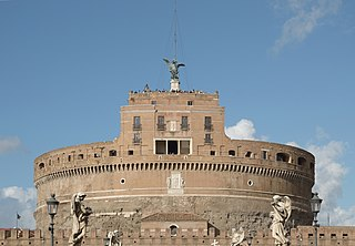 Castel SantAngelo castle and museum in Rome
