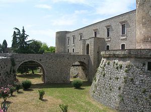 Venosa - The Aragonese Castle.