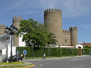 Castle of Zafra (Badajoz) - Castle of Zafra