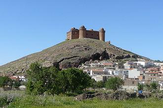 La Calahorra - Castillo de La Calahorra and part of La Calahorra