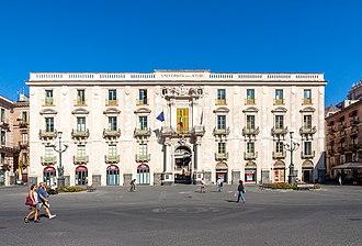 Giovanni Battista Vaccarini - Palazzo San Giuliano - Catania