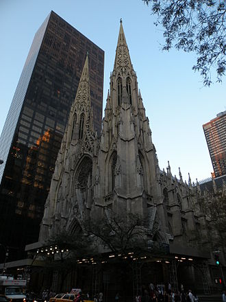 City of Glass (Clare novel) - The St. Patrick's Cathedral contains the similar architectural structure of the New York Institute in the series the Mortal Instruments.