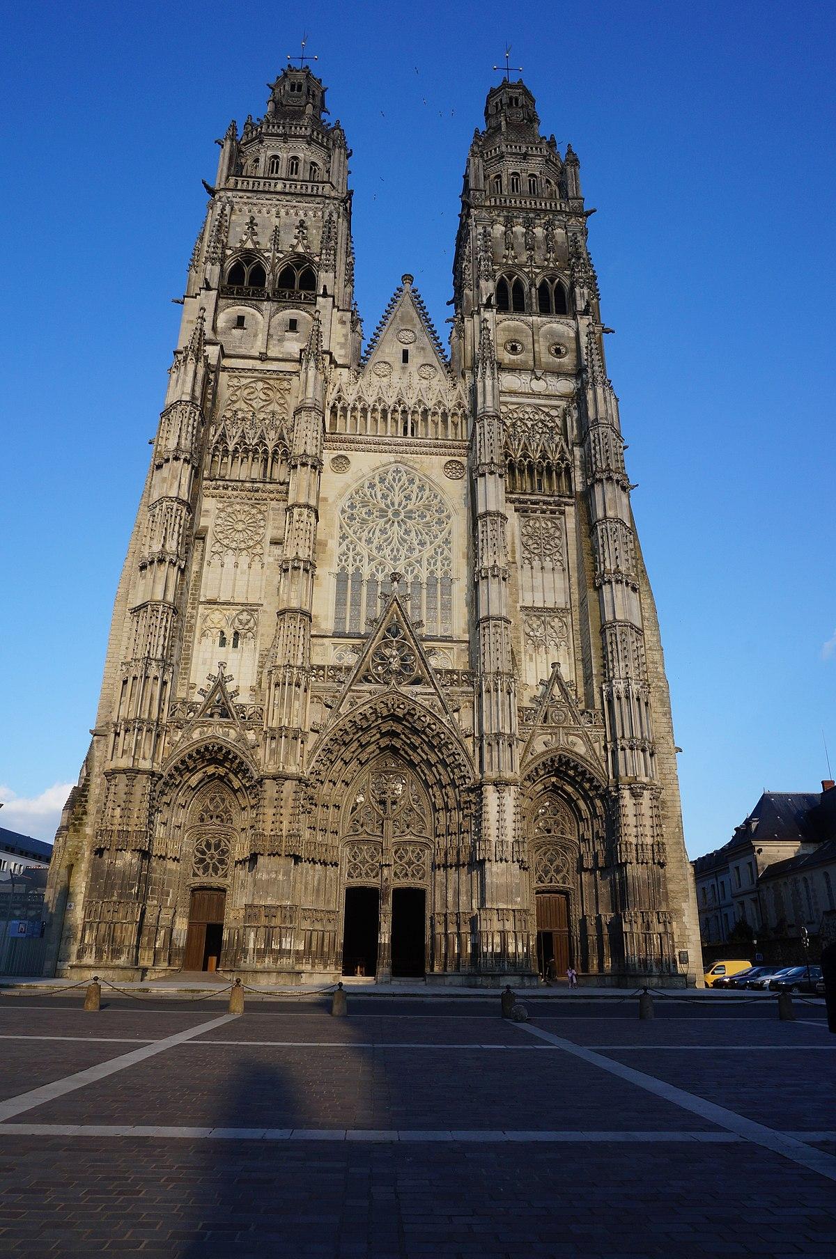CategoryCathédrale Saint Gatien de Tours   Wikimedia Commons