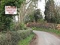 Caution, Swans on Raikes Lane - geograph.org.uk - 1228867.jpg
