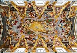 Ceiling of Ljubljana Cathedral (strop Cerkev sv. Nikolaja, Ljubljana).jpg