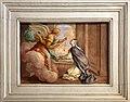 Cella di sant'agnese di montepulciano, con affreschi di nicola nasini, 1704, 14 agnese segni riceve il cropcifisso di gesù bambino da un angelo.jpg