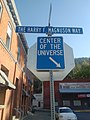 Center of the Universe sign, Wallace, ID.jpg