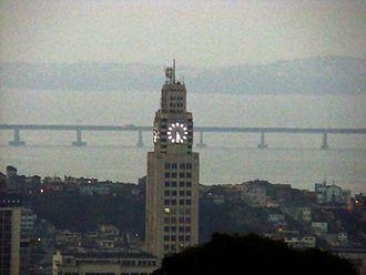 Central do Brasil - View of the station's clock tower