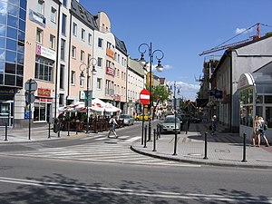 Pruszków - Central part of town