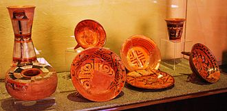 Tlaxcala City - Pre Hispanic ceramics at the Regional Museum