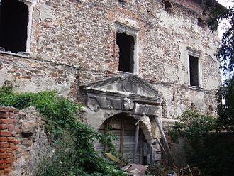 Gabriel Báthory - Ruins of the Báthorys' castle at Szilágysomlyó (now Șimleu Silvaniei in Romania)