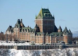 Châteauesque - Château Frontenac, Quebec City, Canada 1893